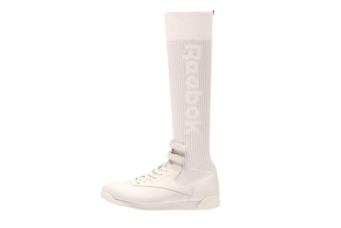 2 Reebok Freestyle Hi Ultraknit Sneaker Freaker