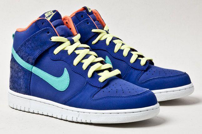 Nike Dunk Hi Navy 2 1