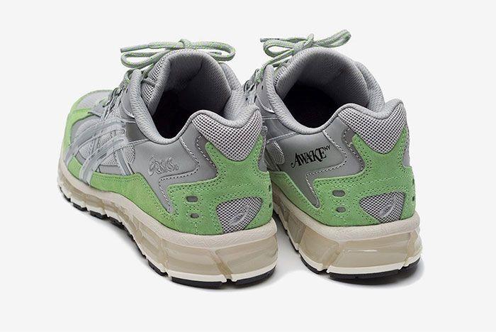 Awake Ny Asics Gel Kayano 5 350 Green Heel