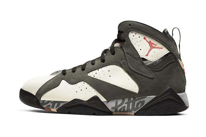 Patta Air Jordan 7 Og Sp Icicle Official At3375 100 Release Date Lateral