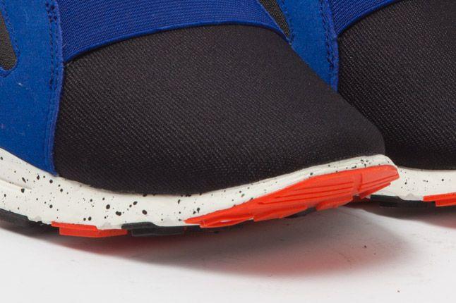 Nike Air Current Blue Orange Toe 1