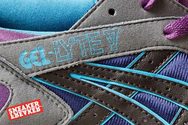 Asics Gel Lyte V Grey Purple Blue 6 Detail 1