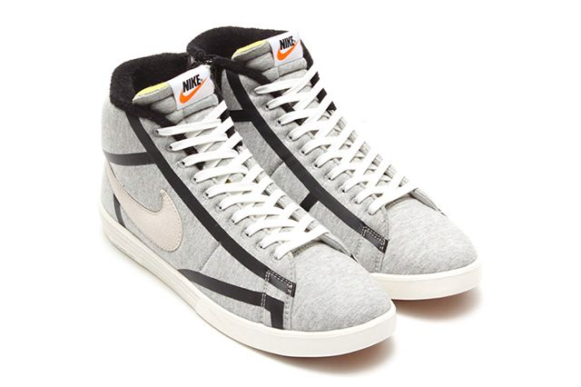 Nike Lunar Blazer Tech Fleece Wolf Grey Sail Black 2