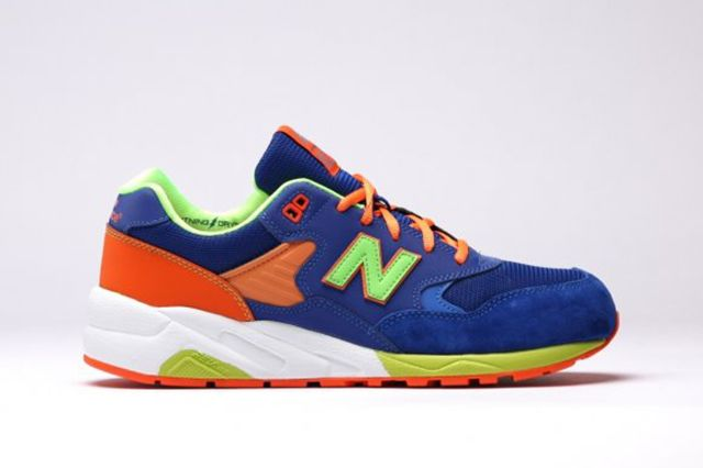 New Balance Mrt580 Bm Grey Turquoise Apple Pink 4