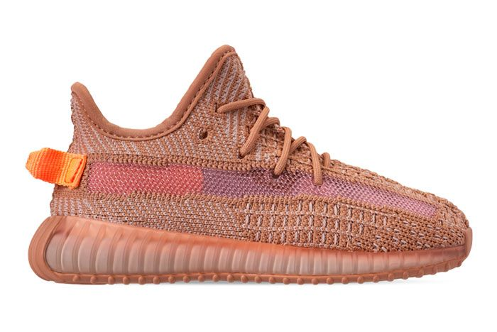 Adidas Yeezy 350 V2 Kids Clay Right