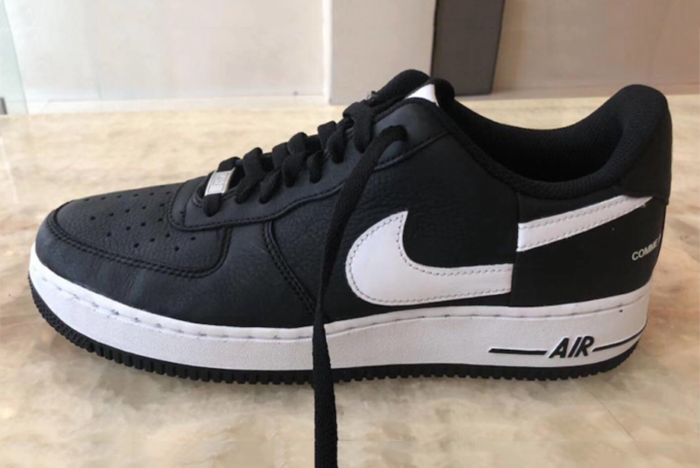 Dar mano canción  Supreme x Comme Des Garçons x Nike's new Air Force 1 Low Leaked ...