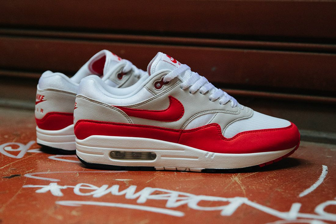 Nike Air Max 1 Anniversary Og Red White 6