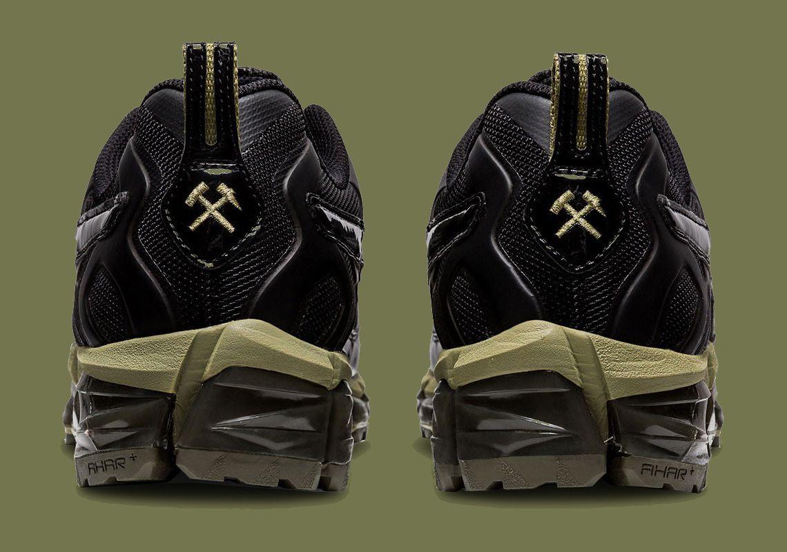 Gmb H Asics Gel Nandi 360 Black Heel