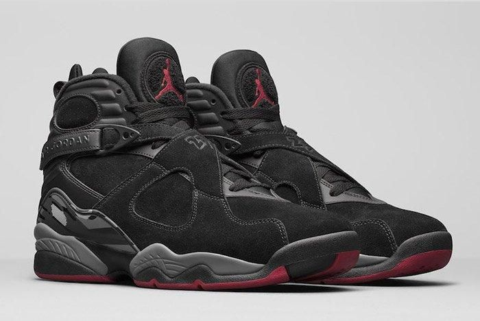 Air Jordan 8 Black Cement 2