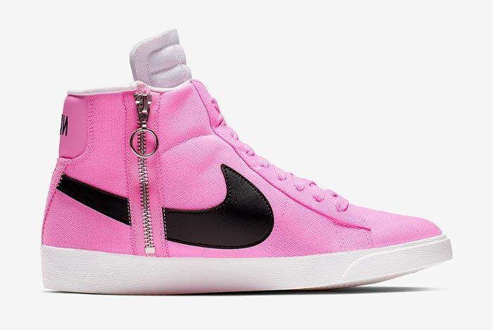Nike Blazer Rebel Mid Psychic Pink Medial