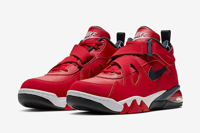 Nike Air Force Max Cb Gym Red Cj0144 600 Release Date 2 Pair Side