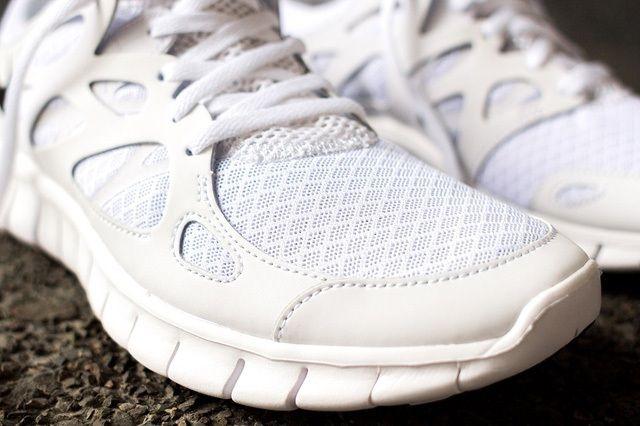 Nike Free Run 2 White Out 4