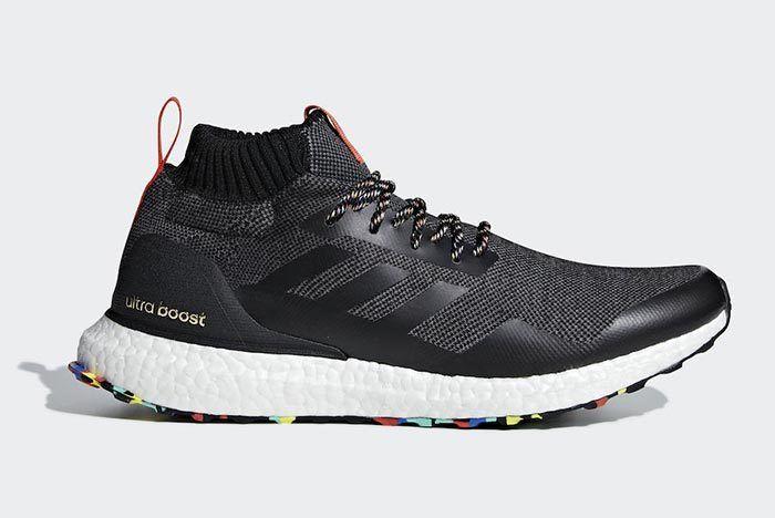 Adidas Ultra Boost Mid Black Multicolor G26841 2