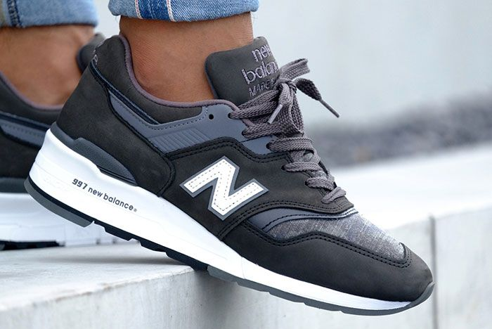 New Balance 997 Charcoal 5