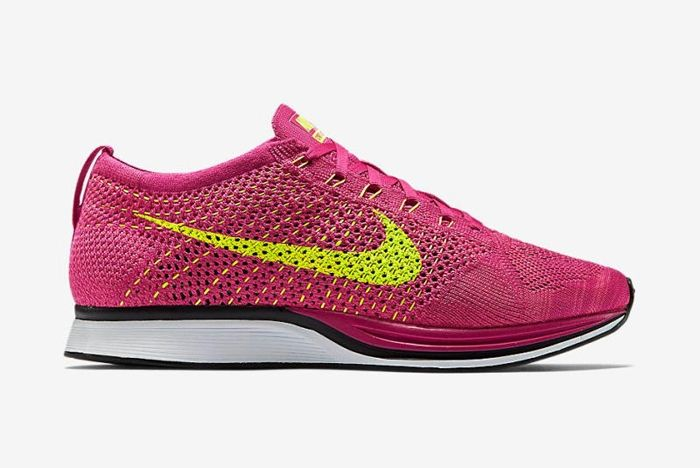 Nike Flyknit Racer Fireberry 5