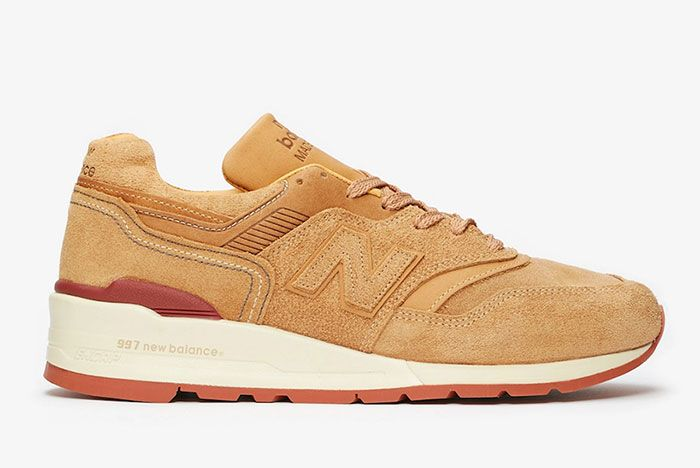 Red Wing Shoes New Balance 997 M997 Rw Lateral