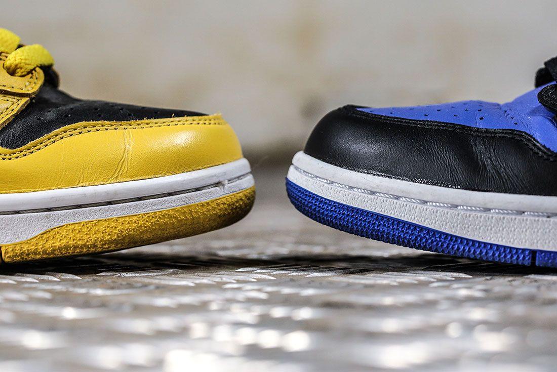 Nike Dunk Versus Air Jordan 1 Comparison 2