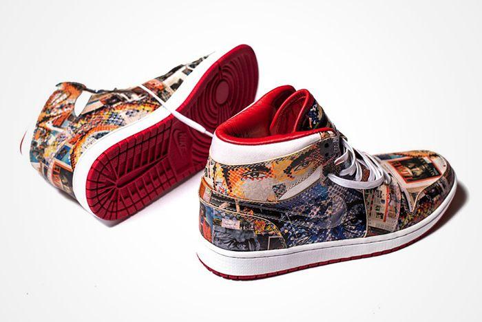 The Shoe Surgeons Latest Custom Turns Jordans Into Artfeature2