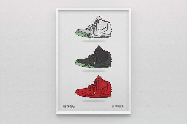 New Range Sneaker Art By Kick Posters 4