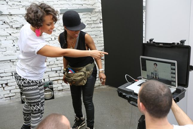 Alicia Keys Reebok Freestyle Wedge Photoshoot2 1
