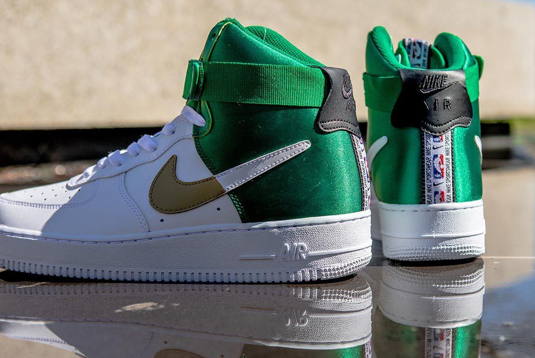 Nike Nba Air Force 1 High Green White