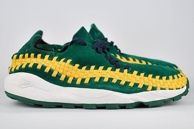 Nike Brazil Woven Footscape Green 1