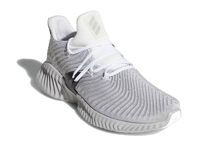 Adidas Alphabounce Instinct Grey Shock Lime Release Date 006 Sneaker Freaker