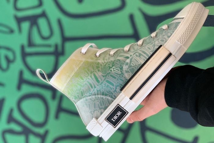 Dior Stussy B23 Sneaker 2