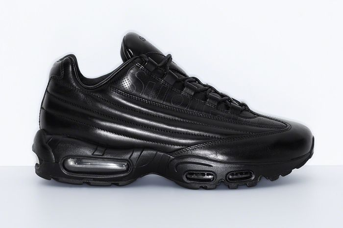 Supreme Nike Air Max 95 Lux Black Release Date Lateral
