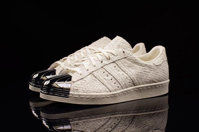 Adidas Superstar 80S Metal Toe Antique White 3
