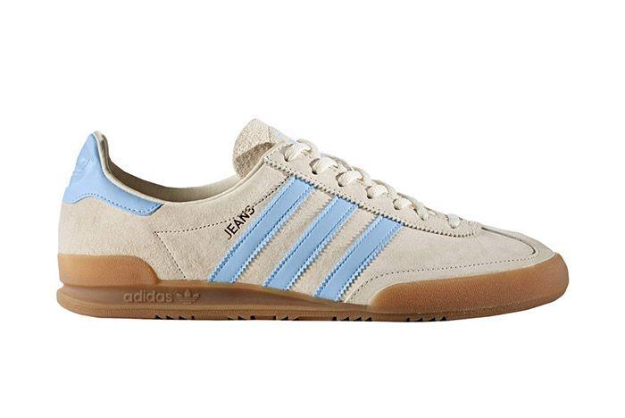 Adidas Jeans Retro White