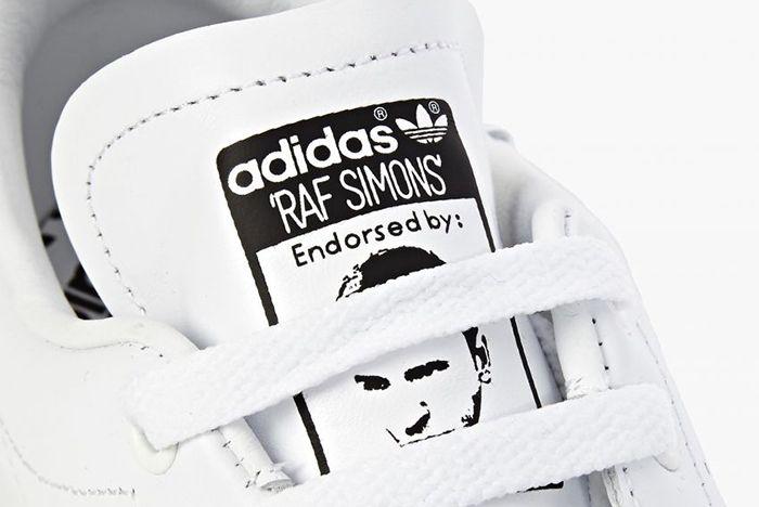Raf Simons X Adidas Stan Smith White Black 4