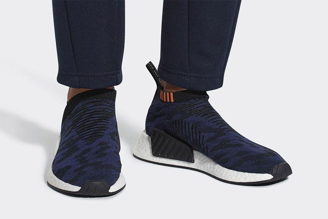 Adidas Nmd Cs2 Core Black Noble Indigo White Sneaker Freaker 1