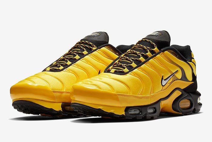 Nike Air Max Plus Yellow 1