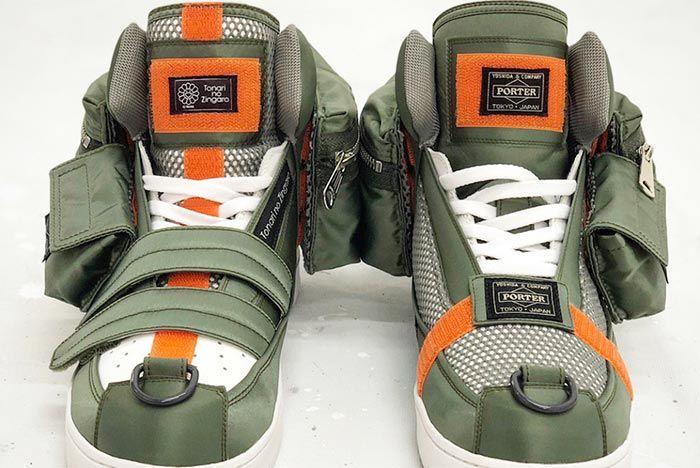 Murakami Custom Sneakers Porter 1