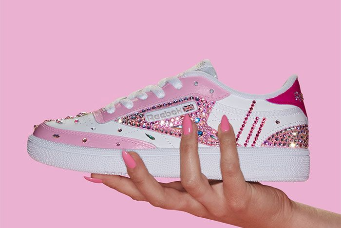Reebok Club C Swarovski Giveaway Left