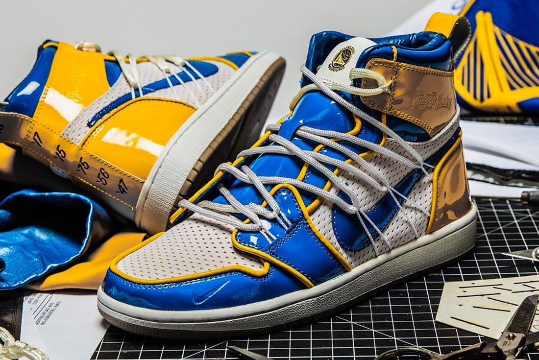 Shoe Surgeon Air Jordan 1 Warriors Pe