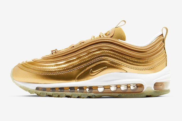 Nike Air Max 97 Gold Medal Left