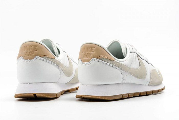 Nike Air Pegasus 83 Premium White Grey Leather 5
