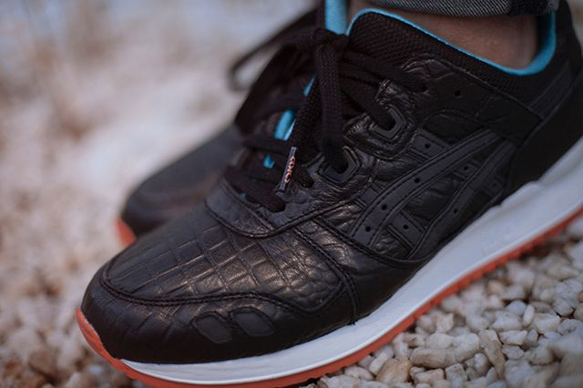 Asics Gel Lyte 3 Miami Vice Black Bump 3