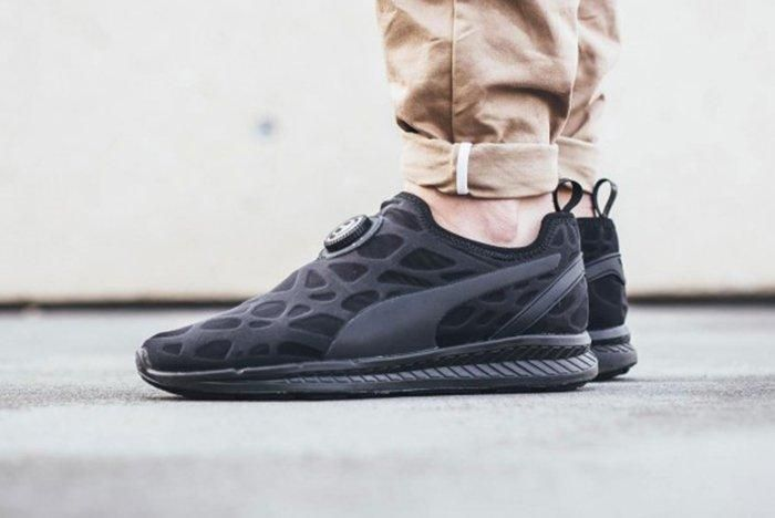 Puma Ignite Disc Sleeve Triple Black