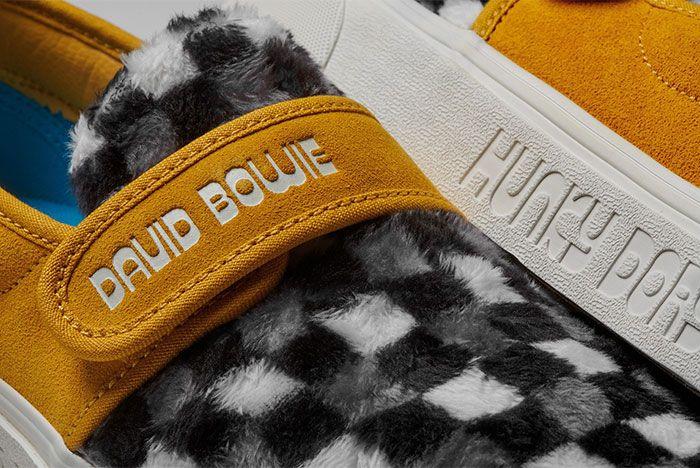 Vans David Bowie Collection Furry Slip Detail