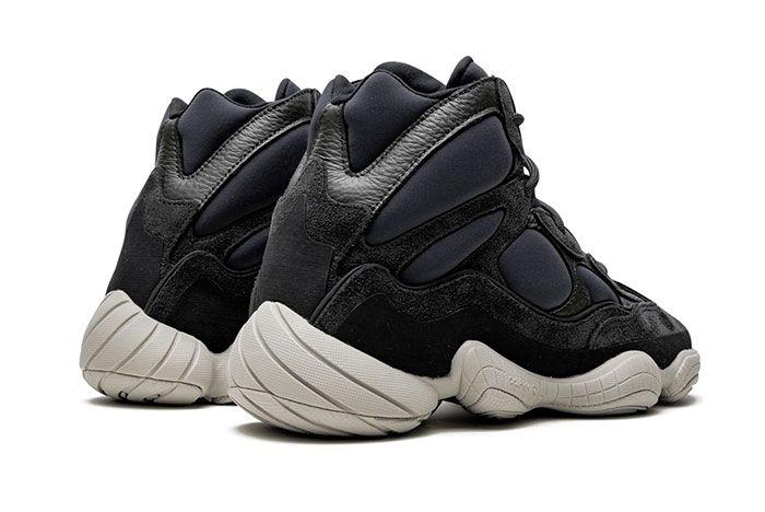 Adidas Yeezy 500 High Slate Heel