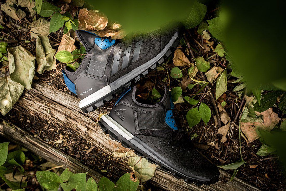 Adidas Response Trail Boost Black Navy 3