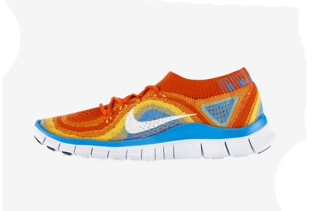 Nike Free Flyknit Primary Colours 2