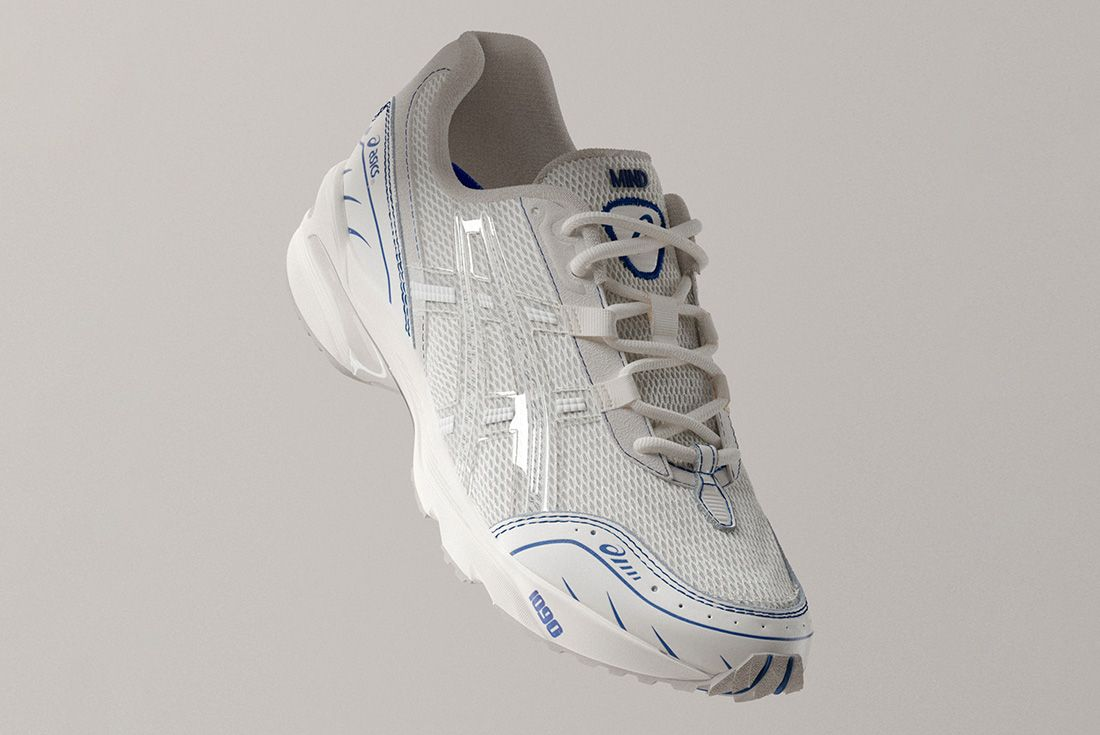 Above The Clouds Asics Gel 1090 Right Front Angle Floating