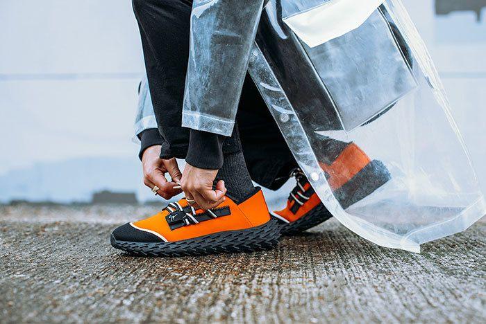 Zanotti Urchin Orange Sneaker Freaker2