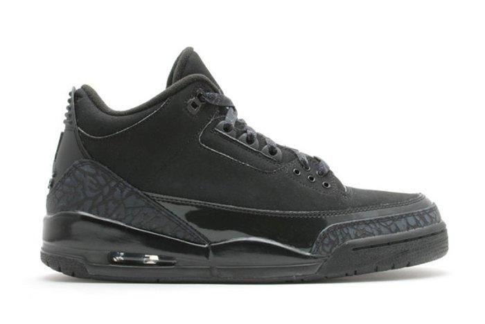 Air Jordan 3 Black Cat2