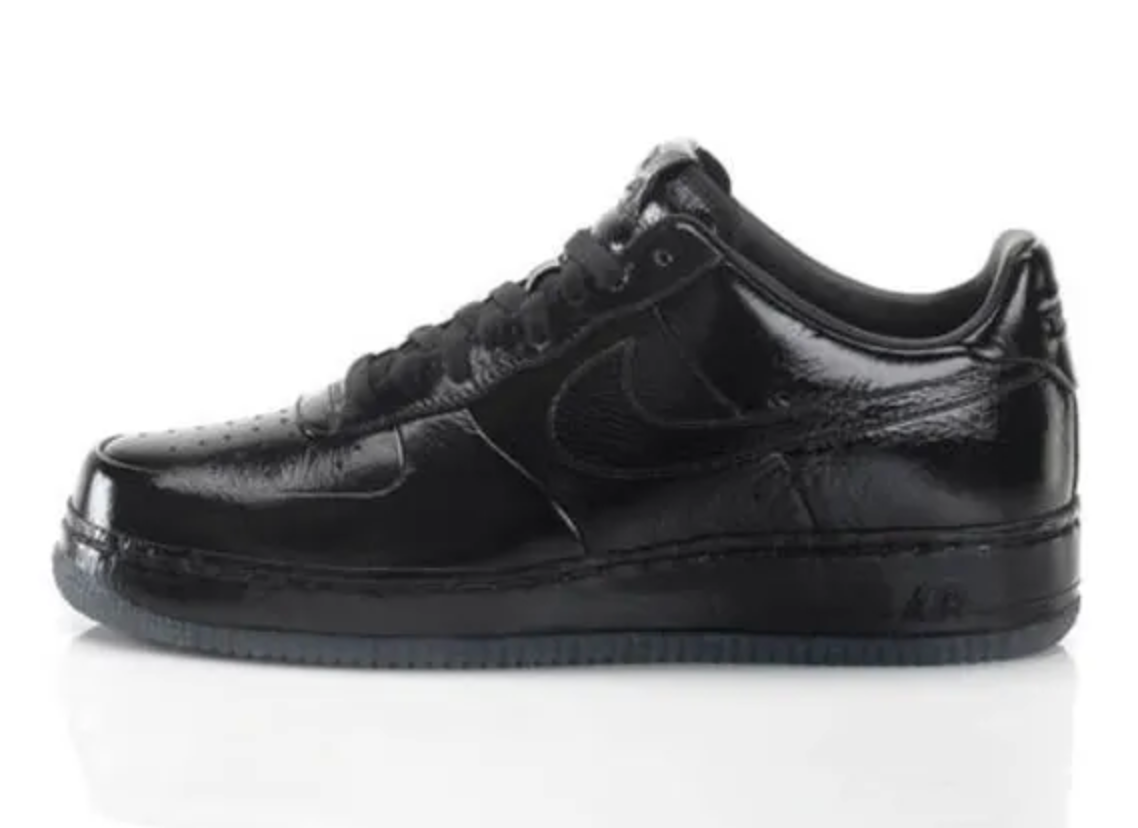 Nike Air Force 1 'All Black Everything France'