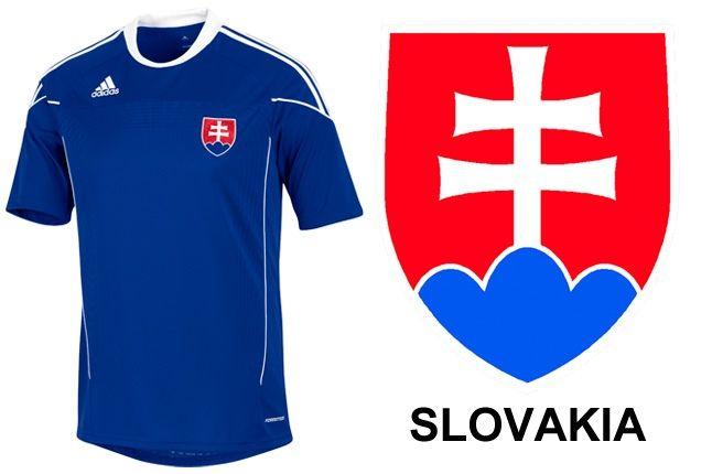 Adidas Slovakia World Cup Kit 1 1